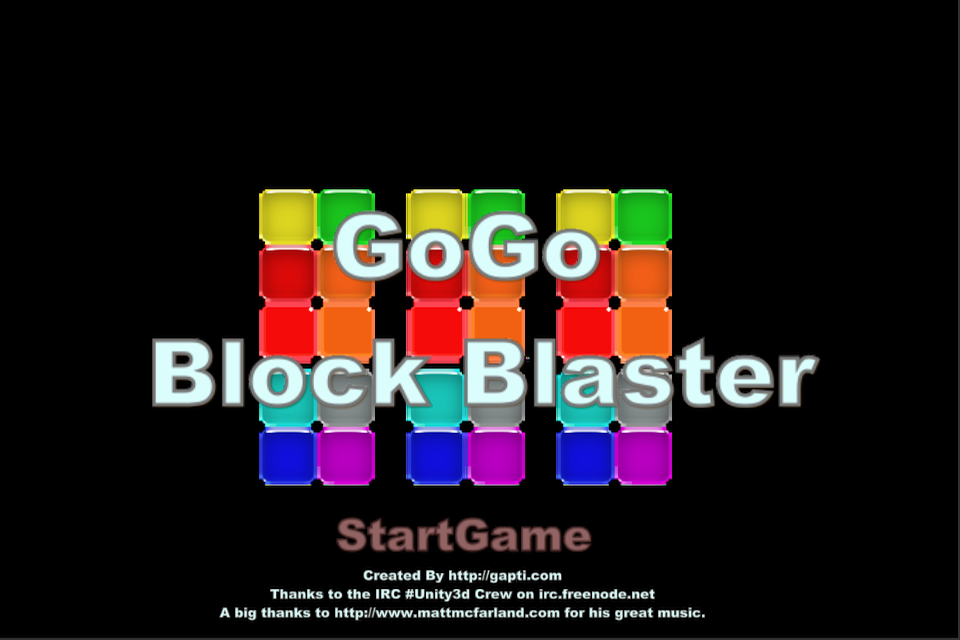 Screenshot Go Go Block Blaster