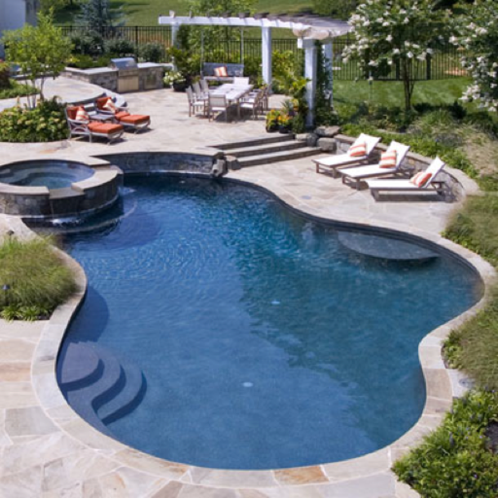 8 200 swimming pool designs ideas catalog free iphone for Swimming pool design app